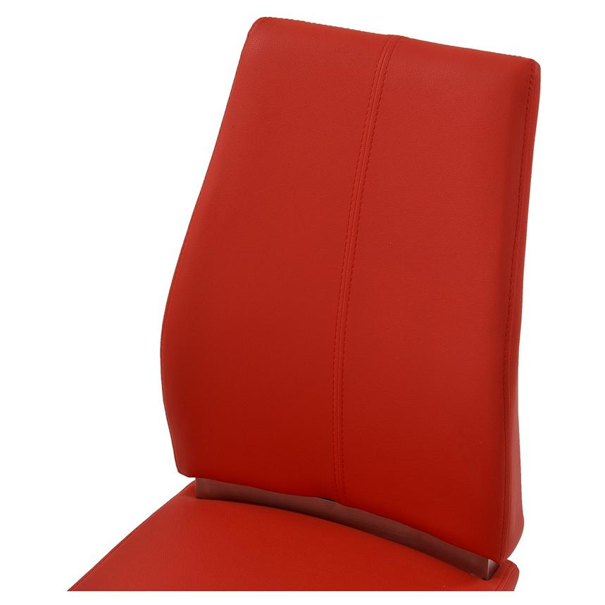Maday Red Side Chair  alternate image, 3 of 4 images.