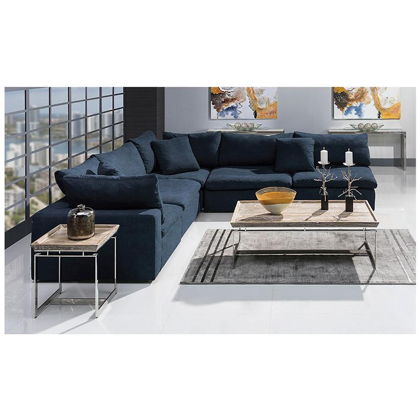 Nube II Blue Sofa Alternate Image, 2 Of 9 Images.