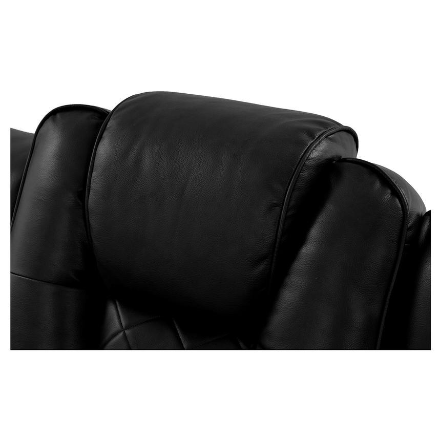 Chanel Black Power Motion Sofa  alternate image, 13 of 15 images.