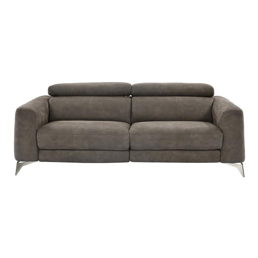 Piera Gray Power Motion Sofa  alternate image, 3 of 11 images.