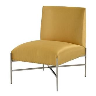 Barrymore Yellow Accent Chair