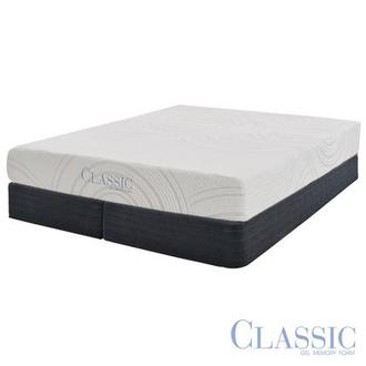 Darlington Memory Foam King Mattress Set w/Regular Foundation by Classic Brands