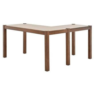 Kayu L-Shaped Desk