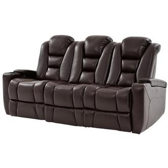 Transformer II Brown Power Motion Sofa