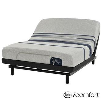 iComfort Blue 100 Twin XL Mattress w/Essentials III Powered Base by Serta