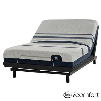 iComfort Blue 300 Twin XL Mattress w/Essentials III Powered Base by Serta
