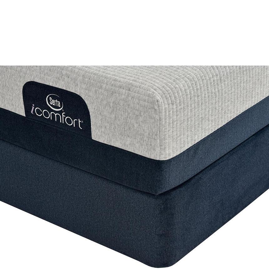 iComfort Blue 300 Queen Mattress w/Regular Foundation by Serta  main image, 1 of 4 images.