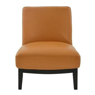 Nana Tan Leather Accent Chair