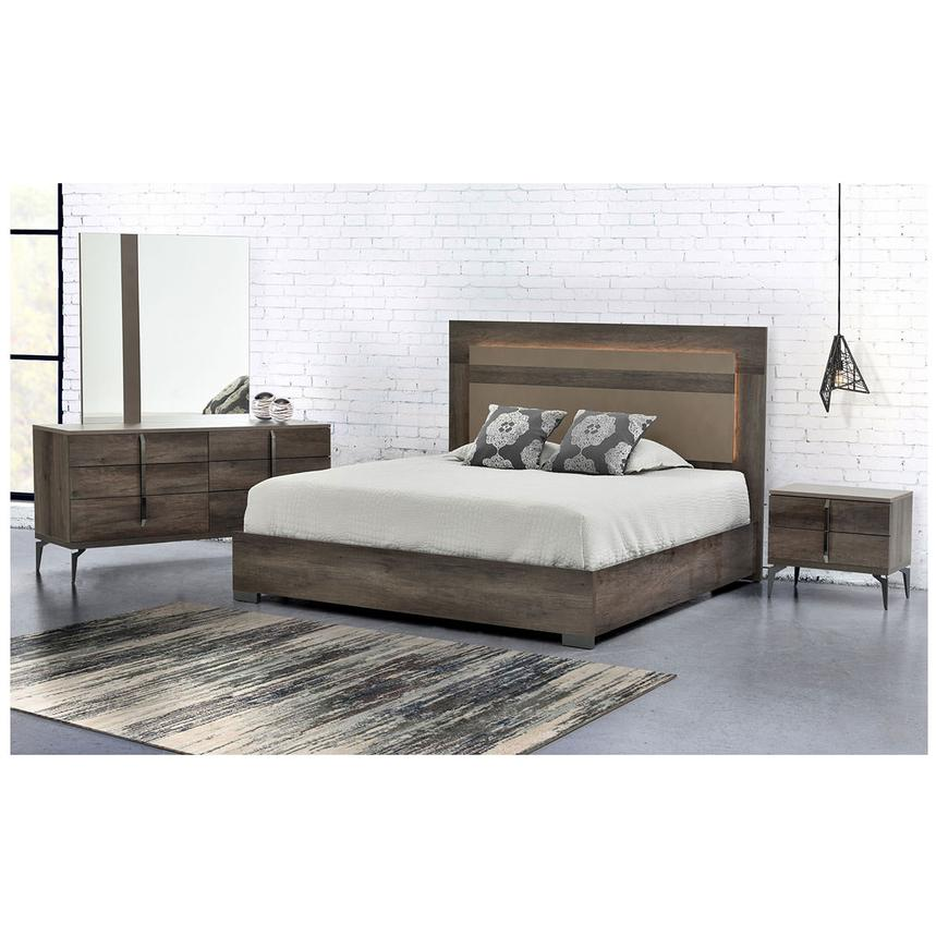 Matera Queen Platform Bed Made in Italy  alternate image, 3 of 6 images.