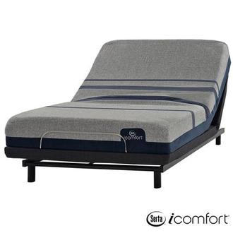 iComfort Blue Max 1000 Plush Full Mattress w/Essentials III Powered Base by Serta