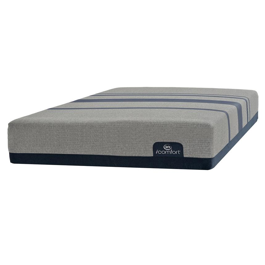 iComfort Blue Max 1000 Plush Queen Mattress by Serta  main image, 1 of 3 images.