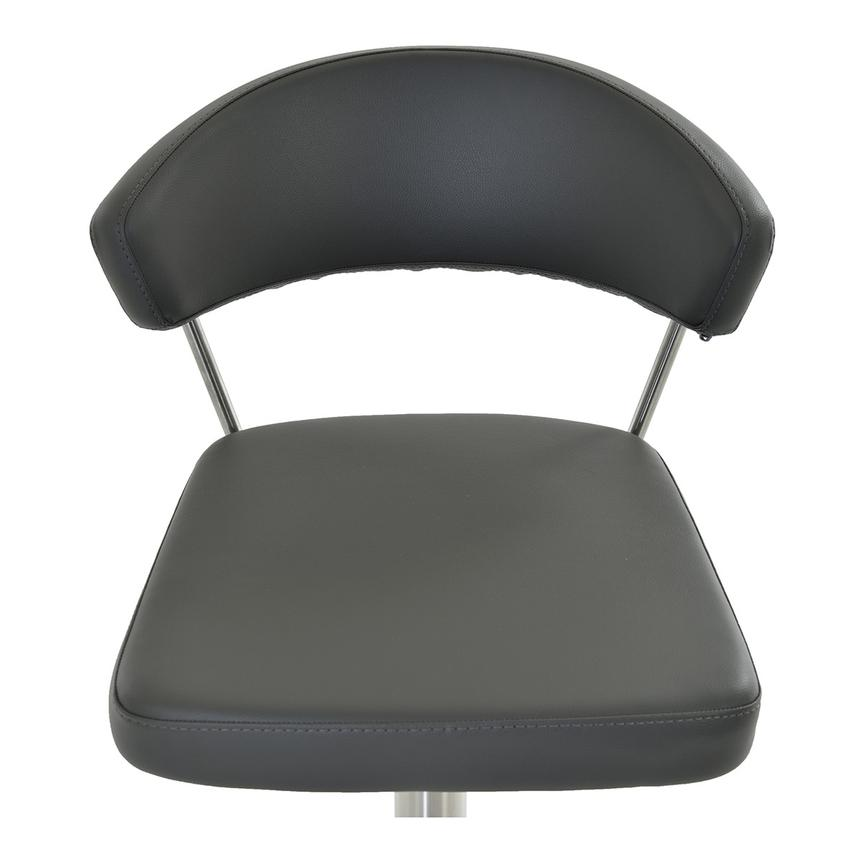 Bold Gray Adjustable Stool  alternate image, 4 of 6 images.