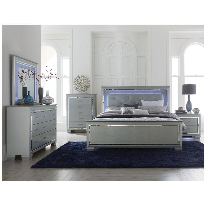 Isabel Gray 4 Piece King Bedroom Set Alternate Image 2 Of 7 Images