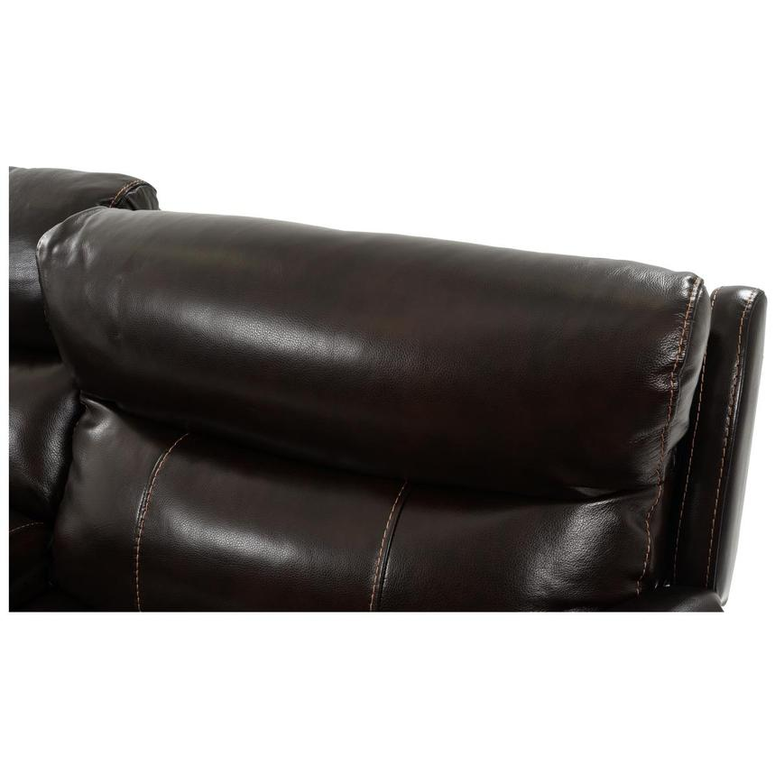 Jeremi Power Motion Leather Sofa w/Console  alternate image, 9 of 10 images.