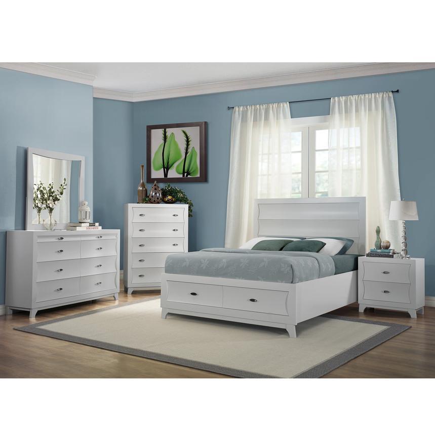 Gentil Whiteaker 4 Piece Queen Bedroom Set Alternate Image, 2 Of 7 Images.