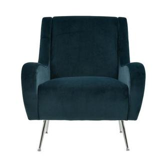 Morgan Blue Accent Chair