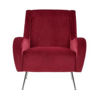 Morgan Red Accent Chair