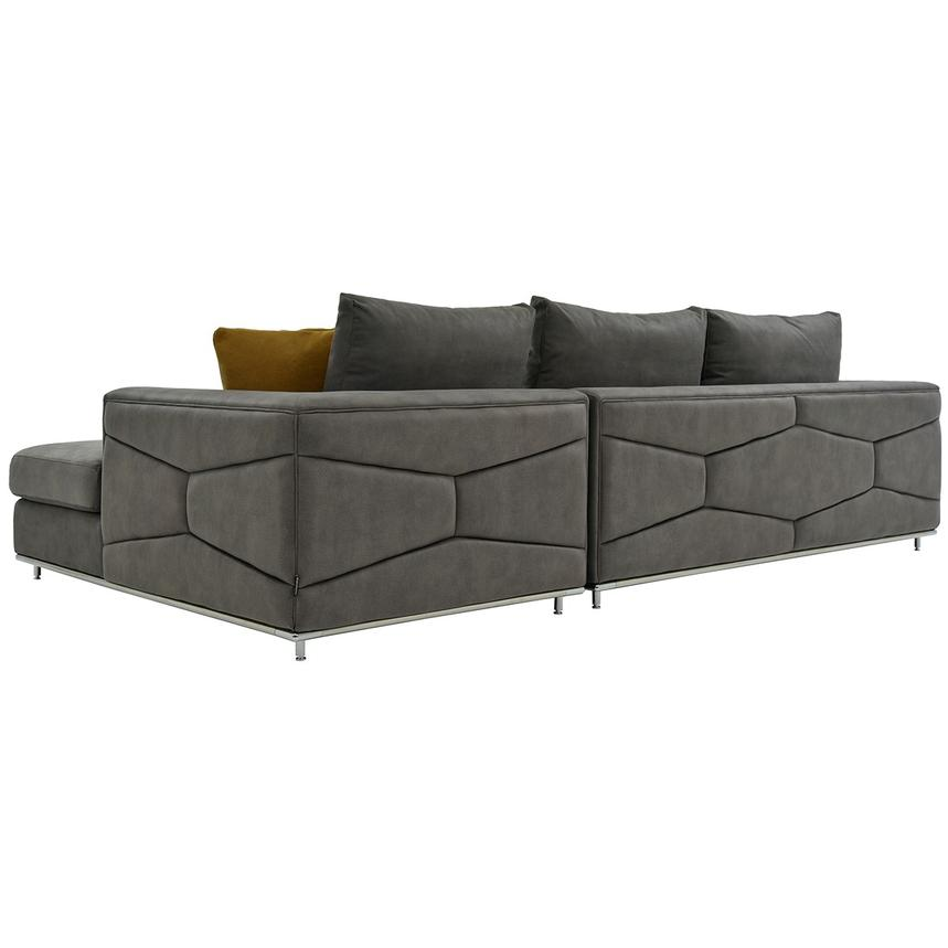 Grigio Sofa w/Right Chaise  alternate image, 3 of 5 images.