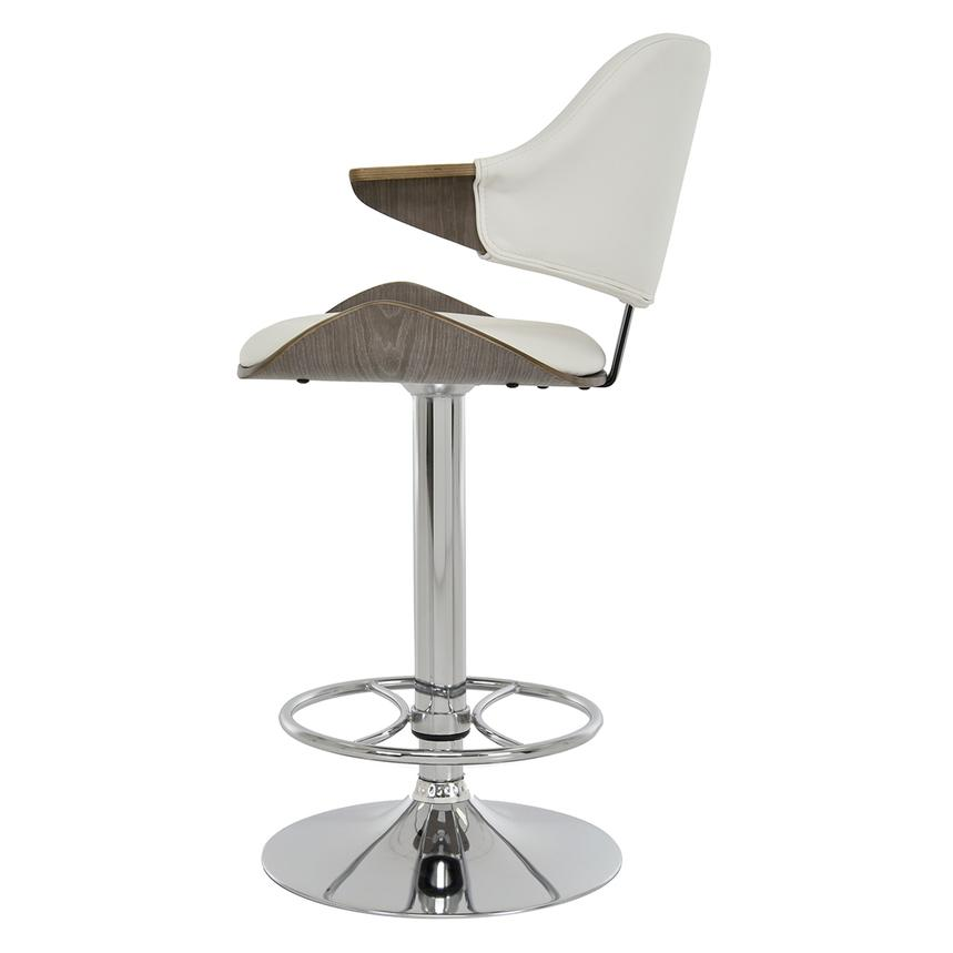 Chia White Adjustable Stool  alternate image, 4 of 8 images.
