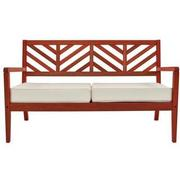 Nassau Red Loveseat Made in Brazil  main image, 1 of 7 images.