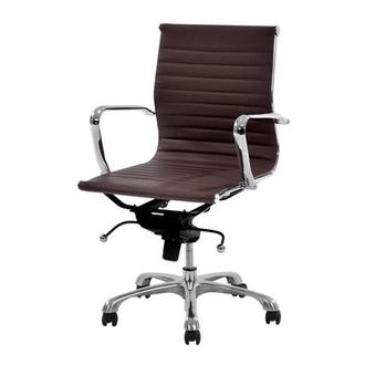 Watson Espresso Low Back Desk Chair