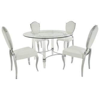 Weiss/Letticia 5-Piece Formal Dining Set