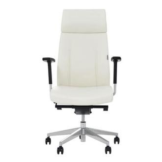 Regulo White High Back Desk Chair