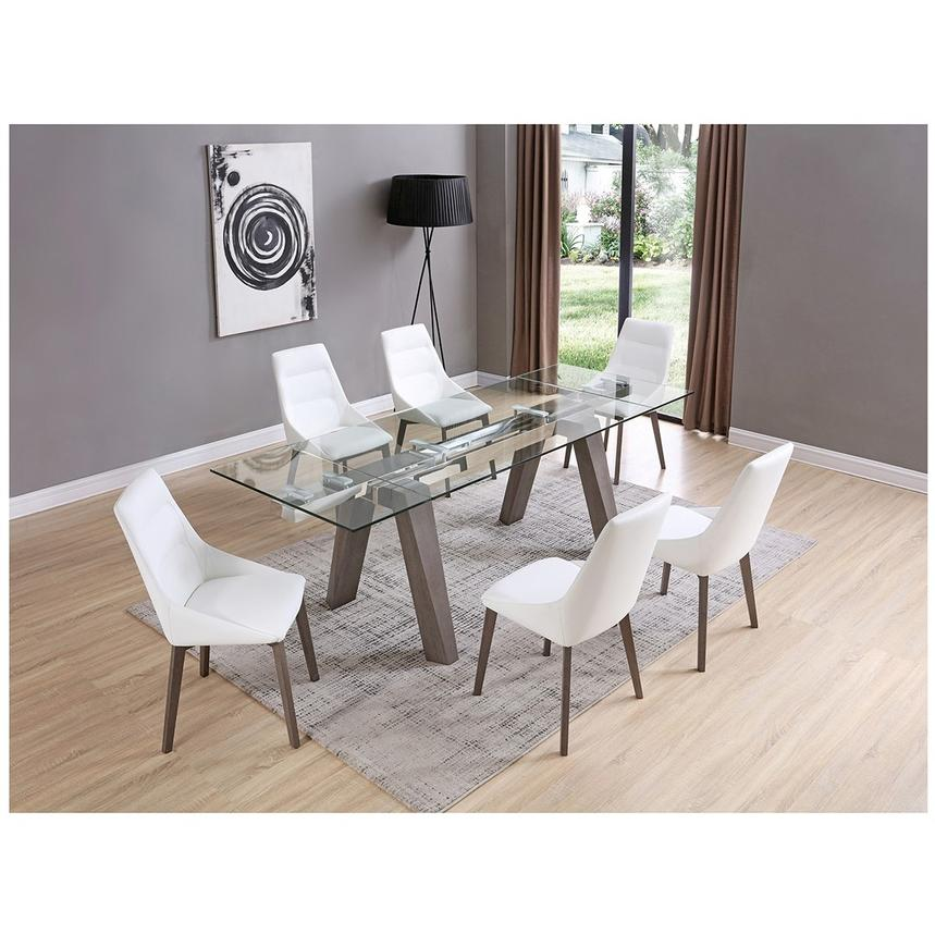Valencia Gray Extendable Dining Table Alternate Image, 2 Of 9 Images.