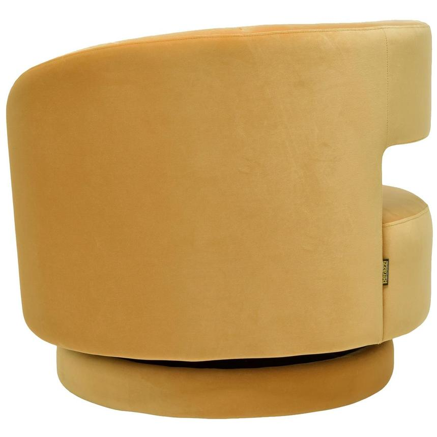 Okru Yellow Swivel Chair  alternate image, 4 of 6 images.