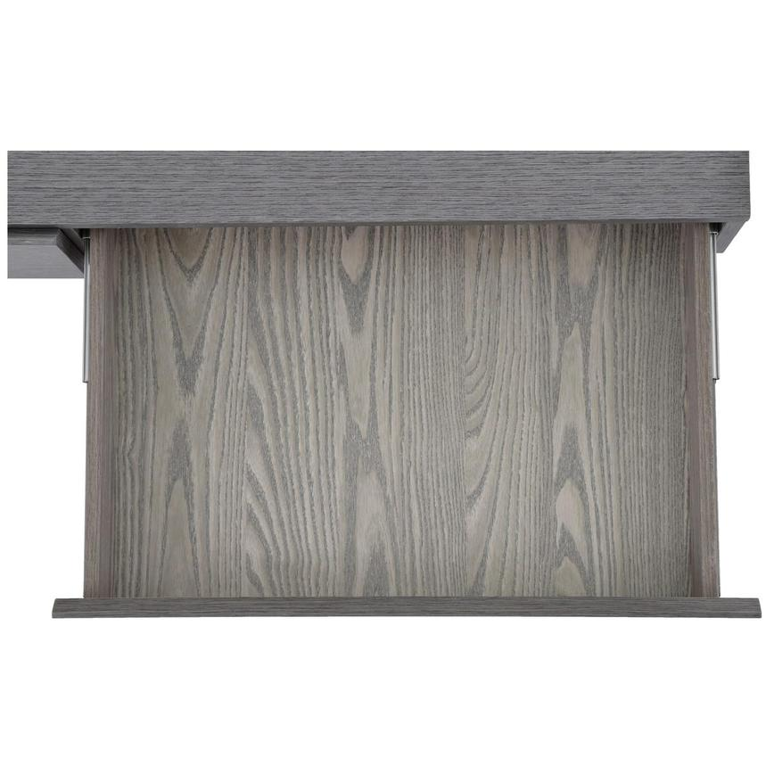 Calypso Matte Gray Console Table  alternate image, 8 of 8 images.