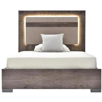 Matera Full Platform Bed Made in Italy