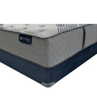 Fusion 1000 King Mattress w/Regular Foundation by Serta