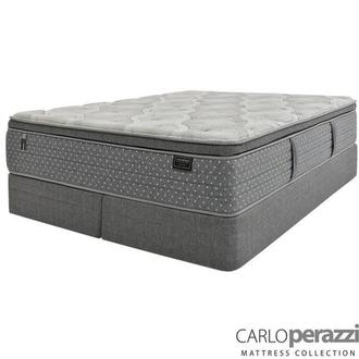 Corvara King Mattress w/Regular Foundation by Carlo Perazzi