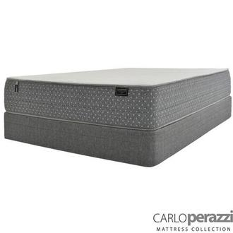 ST. Moritz HB Full Mattress w/Low Foundation by Carlo Perazzi
