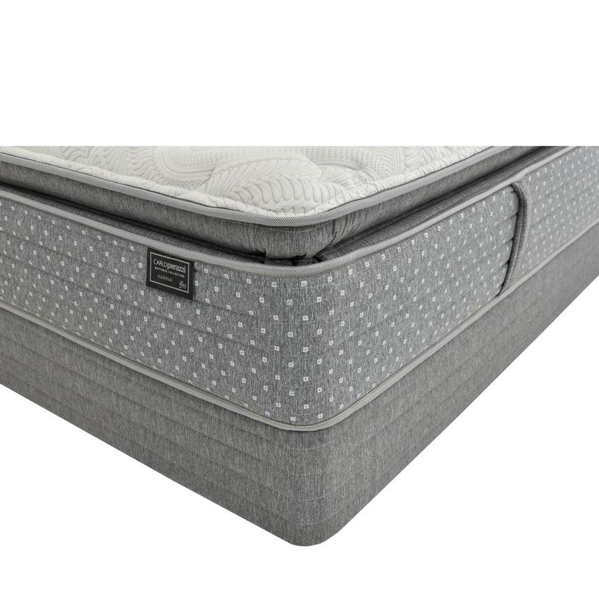 Karina iFlex Queen Mattress w/Regular Foundation by Carlo Perazzi  main image, 1 of 4 images.