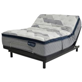 Fusion 300 PT Queen Mattress w/Essentials III Powered Base by Serta