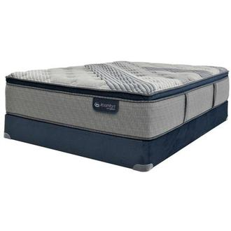 Fusion 1000 PT Queen Mattress w/Low Foundation by Serta