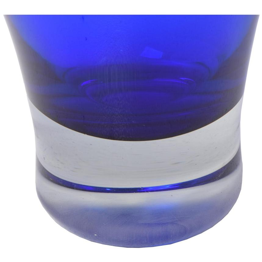 Cobalt Small Glass Vase  alternate image, 3 of 3 images.
