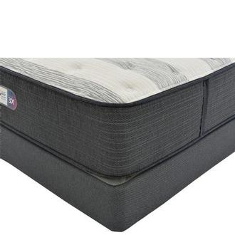 Clover Spring King Mattress w/Low Foundation by Simmons Beautyrest Platinum