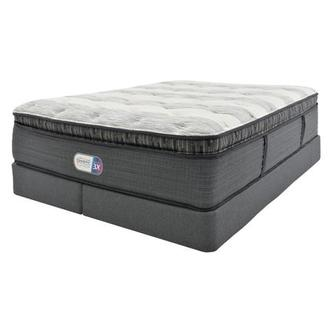 Clover Spring PT King Mattress w/Regular Foundation by Simmons Beautyrest Platinum