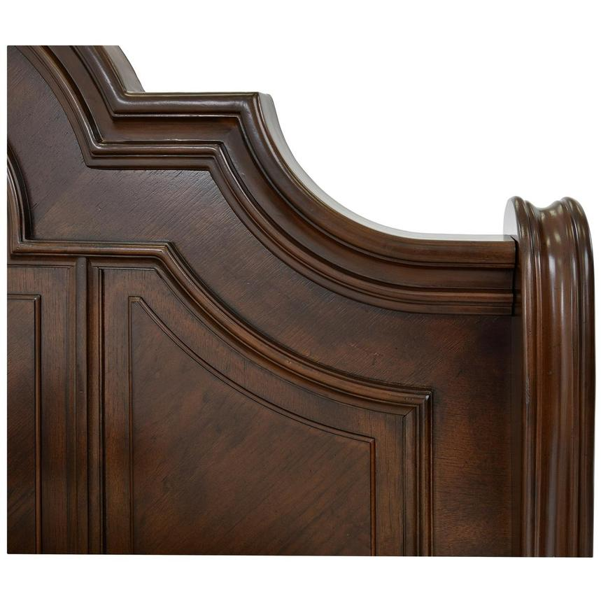 Alexandria Queen Sleigh Bed  alternate image, 4 of 6 images.