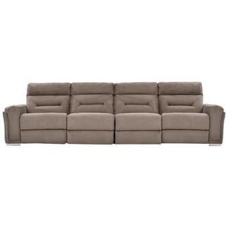 Kim Brown Oversized Sofa