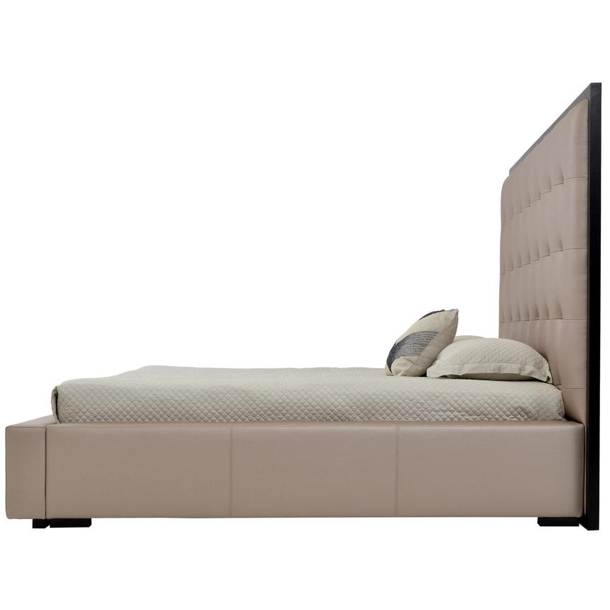Silks Gold Queen Platform Bed  alternate image, 3 of 4 images.