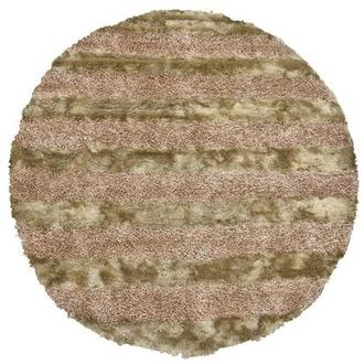 Fusion Gold 8' Round Area Rug