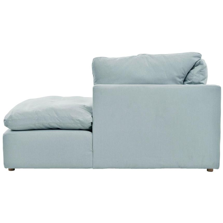 Neapolis Blue Sofa w/Right Chaise  alternate image, 3 of 5 images.