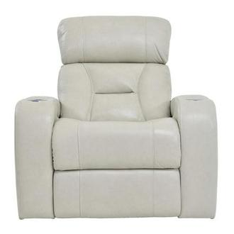 Gio Cream Power Motion Leather Recliner