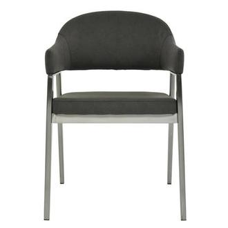 Adelle Gray Side Chair