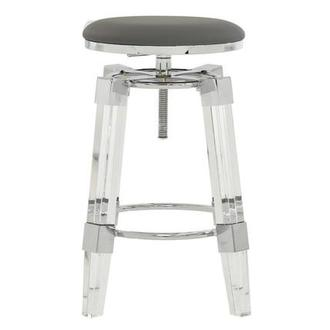 Julie Gray Adjustable Stool