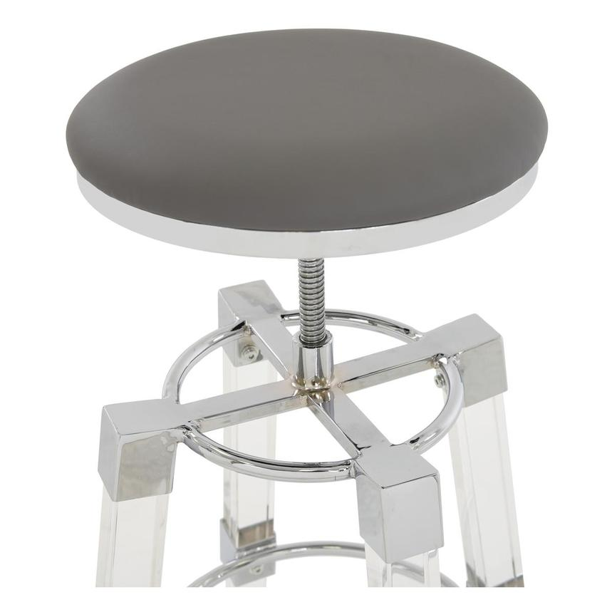 Julie Gray Adjustable Stool  alternate image, 3 of 3 images.
