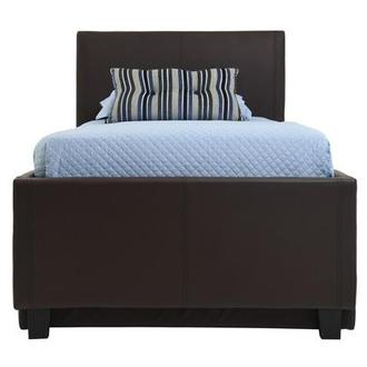 Tate Brown Full Bed w/Trundle